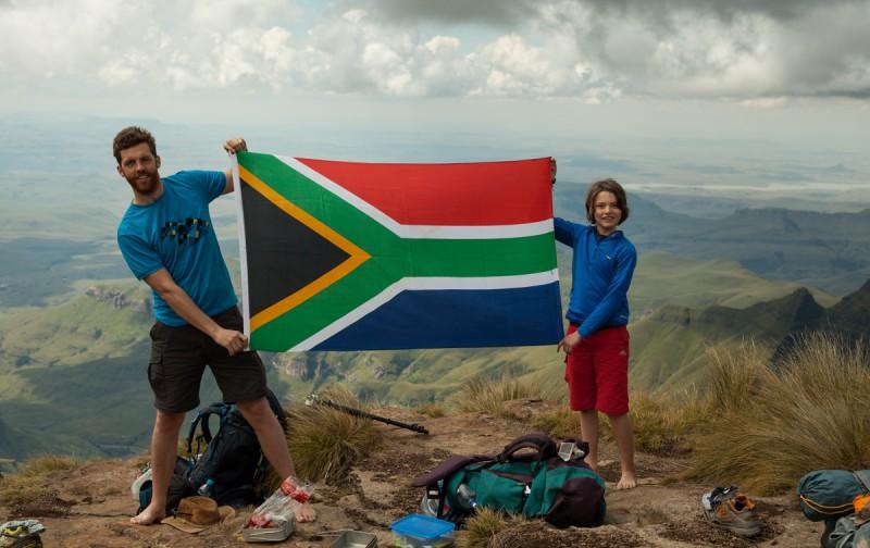 In den Drakensbergen