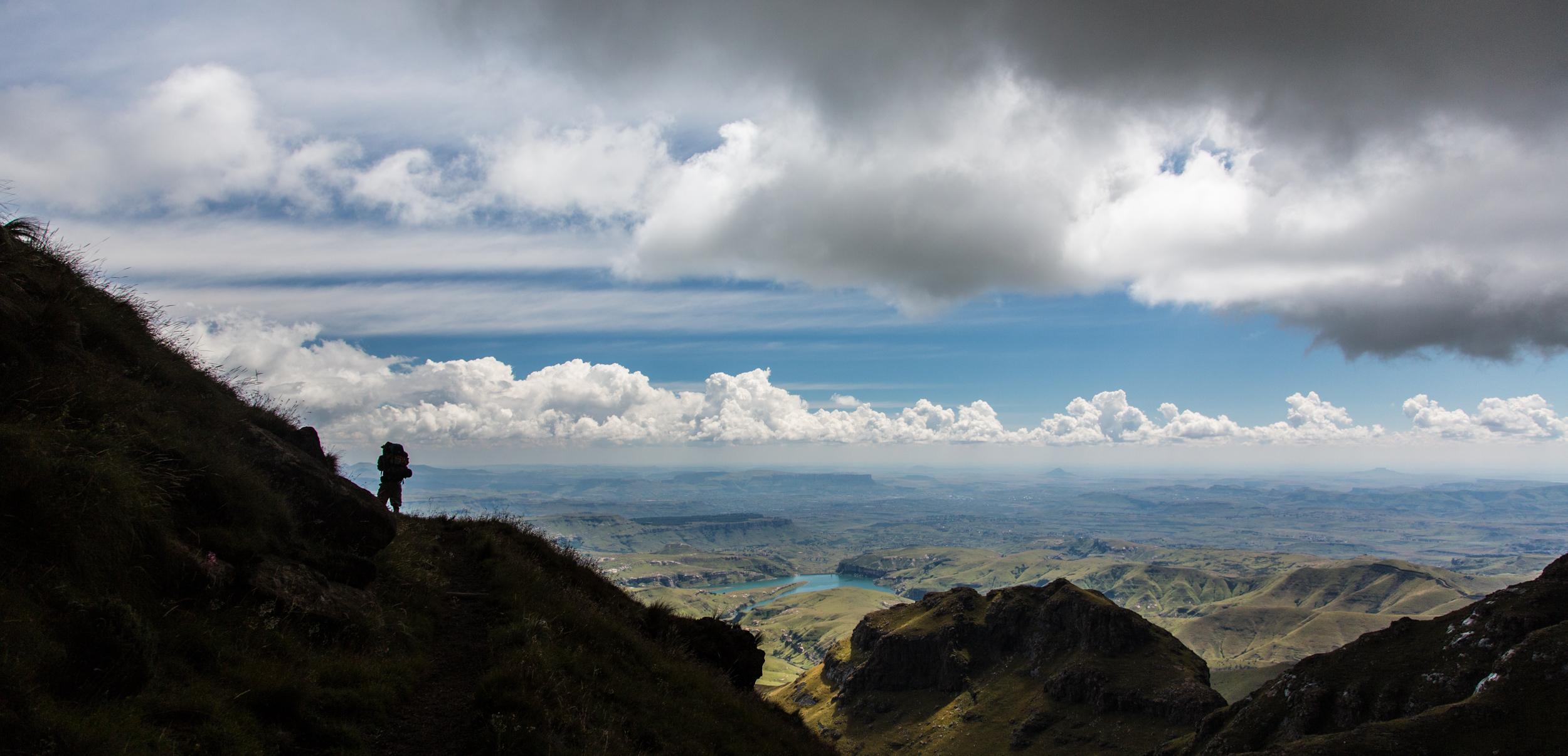 Aussicht Drakensberge